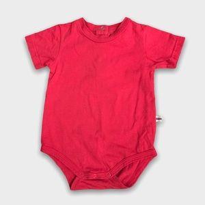 4/$20🥳 Red Cotton Short Sleeve Onesie